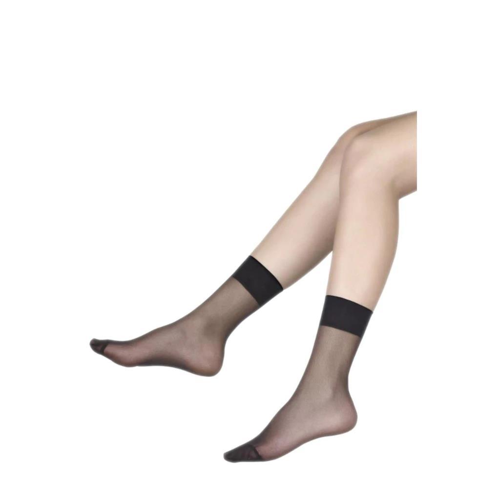 6 Çift Müjde Bayan 20 Denye Soket Çorap İnce Kısa Soket Çorap