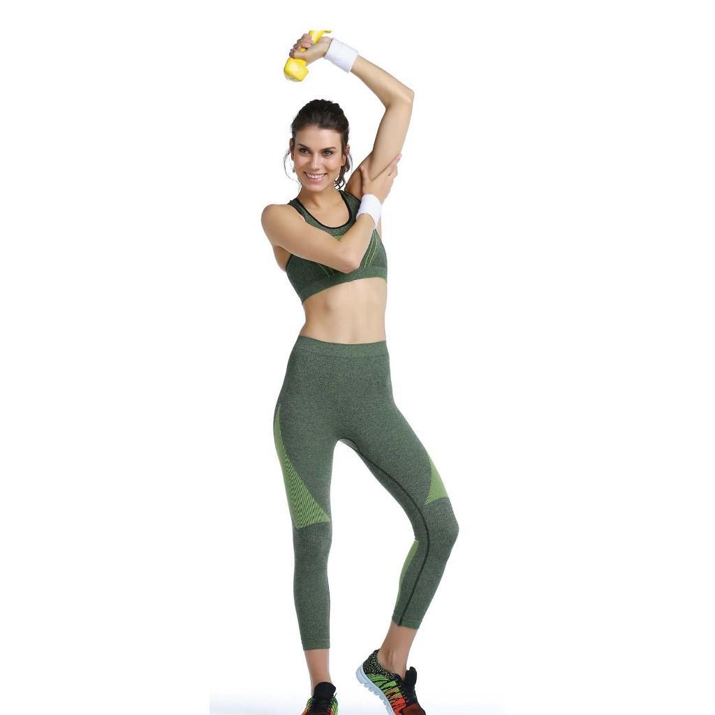 Emay Bayan Spor Büstiyer Tayt Takım Bayan Sporcu Takım 3803