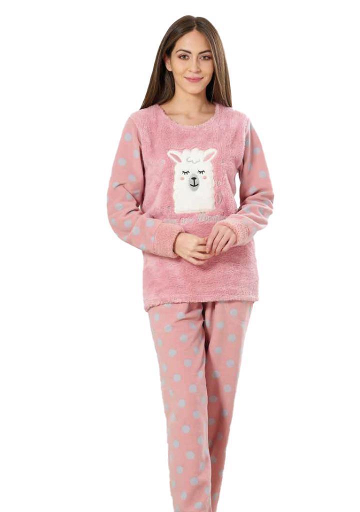 Estiva 19346 Puanlı Polar Bayan Pijama Takımı