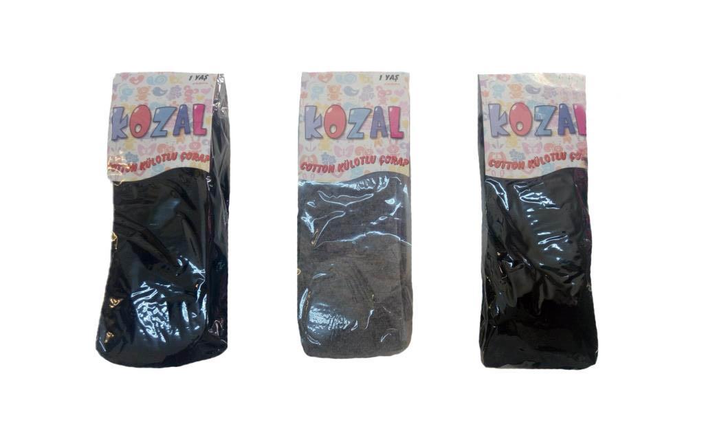 Kozal Kız Çocuk Külotlu Çorap Pamuklu Külotlu Çorap 5 Renk