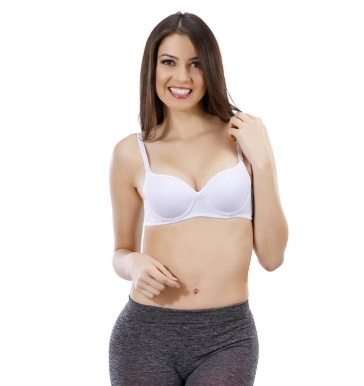 Liza Bayan Destekli Sütyen Dolgulu Sütyen 5 Renk Seçeneği