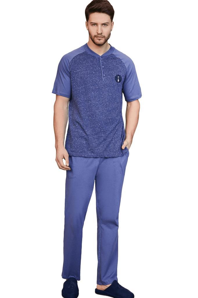 Mecit 2754 Erkek Kısa Kol Pijama Takımı