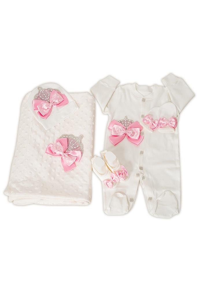 Mecit Bebek Tulum Battaniye Set Bebek Battaniyeli Mevlüt Seti 206