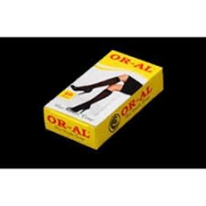 Oral Bayan Dizaltı Çorap 40 Denye Sarı Kutu
