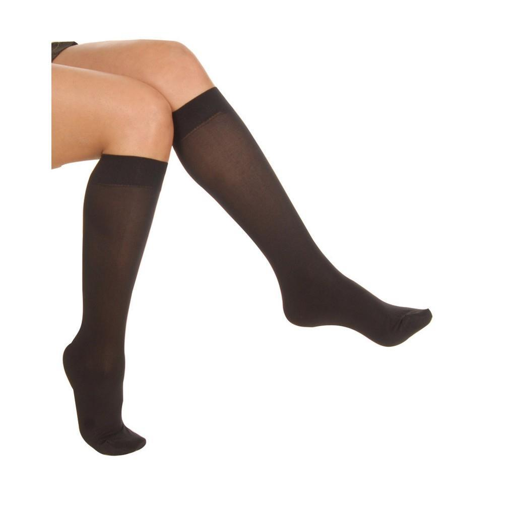 6 lı Paket Oral Bayan Dizaltı Çorap 40 Denye Sarı Kutu