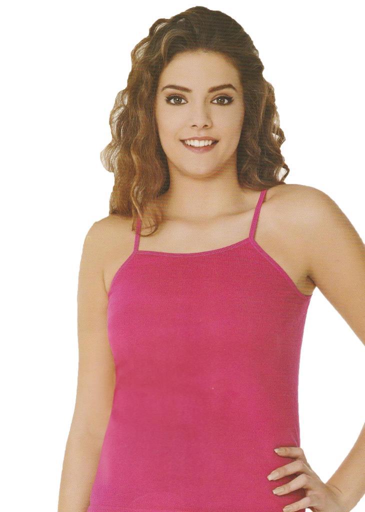 Sedef Yıldızı Bayan İp Askılı Renkli Atlet Tekli Paket